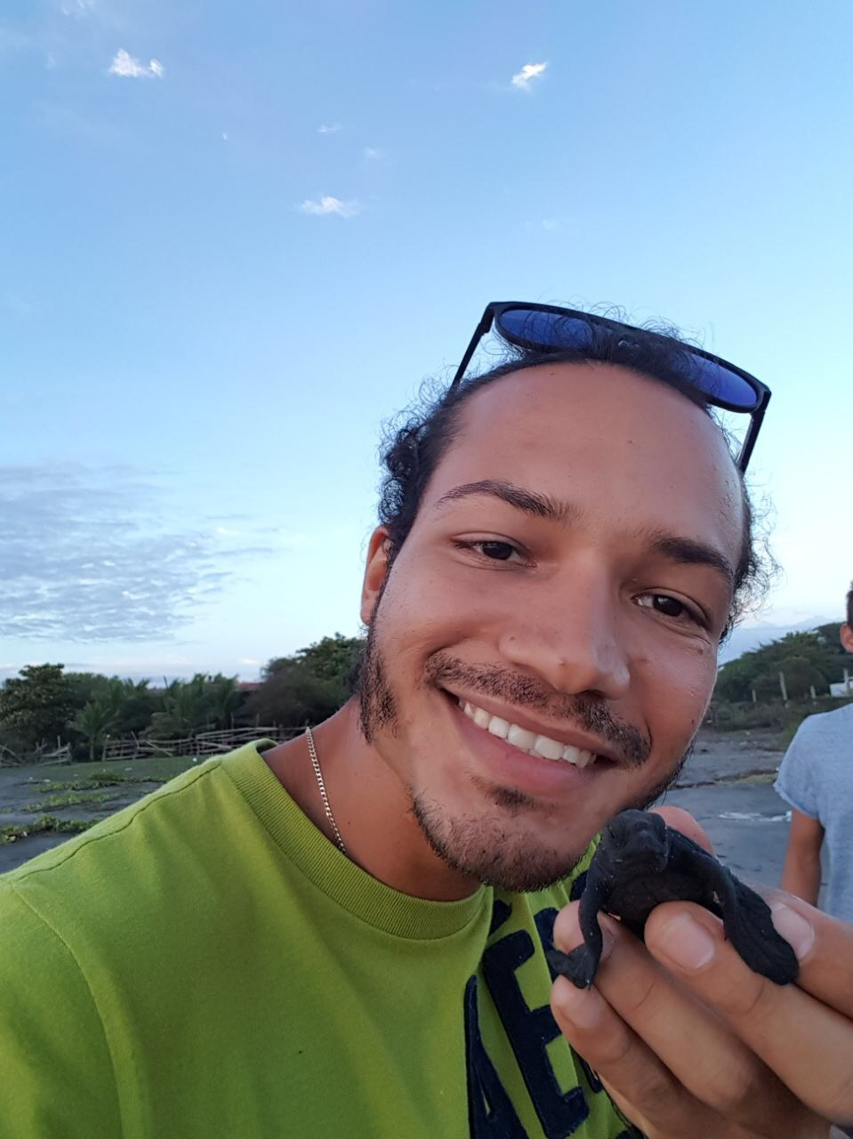 Dude With Turtle Nov2017