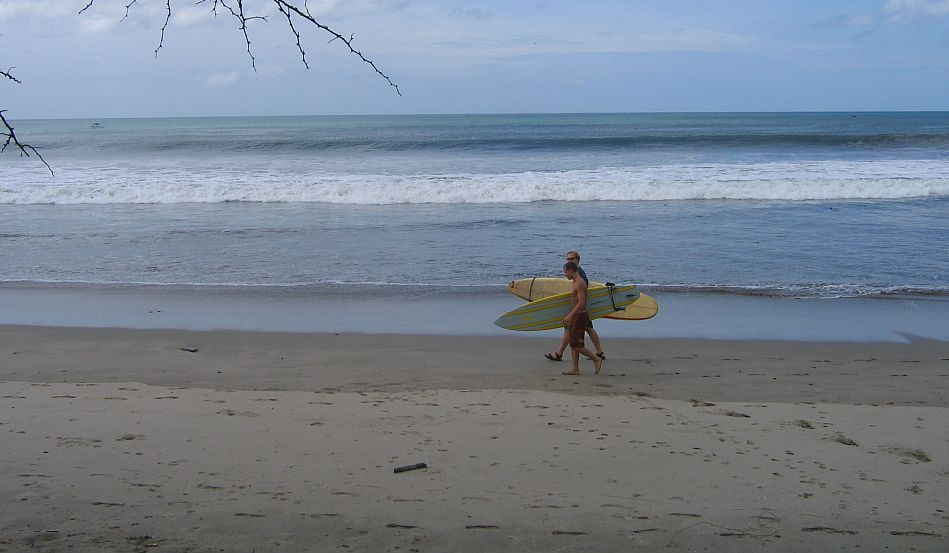 Beach Surfers at Playa Tesoro